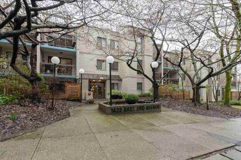 Condo for sale at 1422 3rd Ave E Unit 214 Vancouver British Columbia - MLS: R2447248