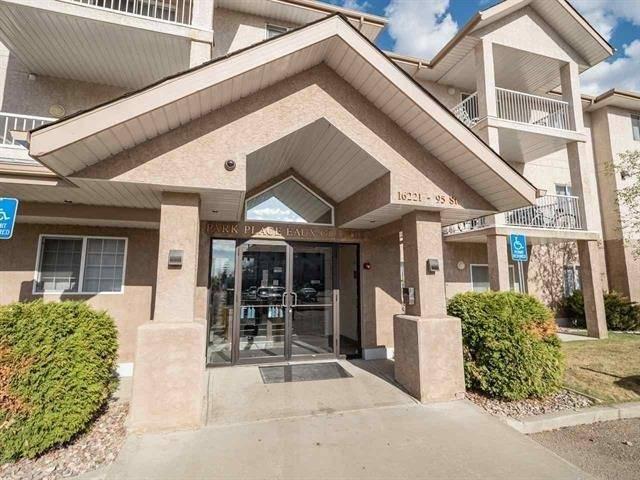 Condo for sale at 16221 95 St Nw Unit 214 Edmonton Alberta - MLS: E4185481