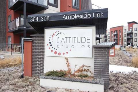 Condo for sale at 304 Ambleside Li Sw Unit 214 Edmonton Alberta - MLS: E4154952