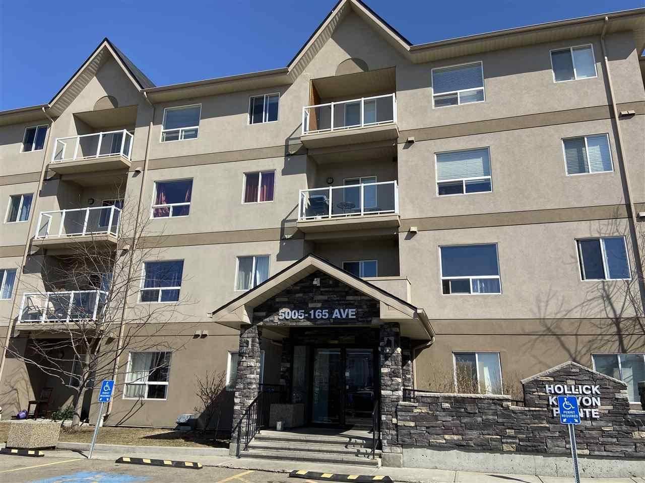 Condo for sale at 5005 165 Ave Nw Unit 214 Edmonton Alberta - MLS: E4194414