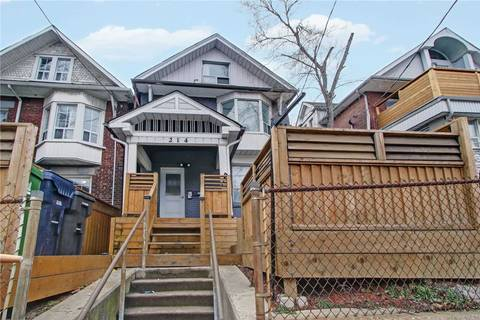 House for sale at 214 Keele St Toronto Ontario - MLS: W4714753