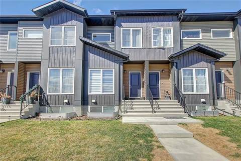 Townhouse for sale at 214 Red Embers Wy Northeast Calgary Alberta - MLS: C4242081