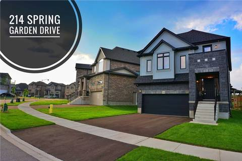 House for sale at 214 Spring Garden Dr Waterloo Ontario - MLS: X4492086