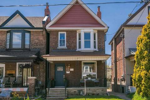 House for sale at 214 Symington Ave Toronto Ontario - MLS: W4458748
