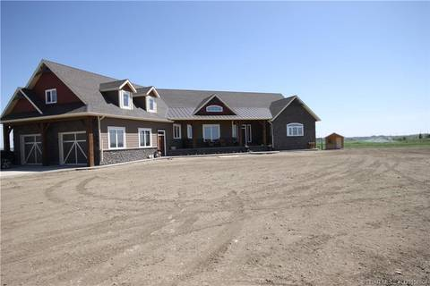 Residential property for sale at 214048 Twp Rd 10-1a  Rural Lethbridge County Alberta - MLS: LD0158864