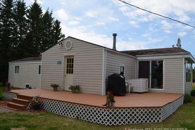 Home for sale at 214067 Highway 55  Athabasca Alberta - MLS: AW52606
