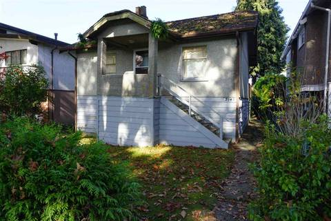 House for sale at 2145 43rd Ave E Vancouver British Columbia - MLS: R2318816