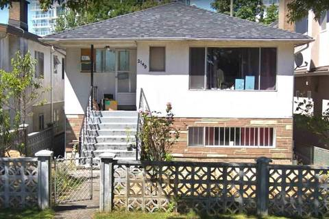 House for sale at 2149 32nd Ave E Vancouver British Columbia - MLS: R2374023