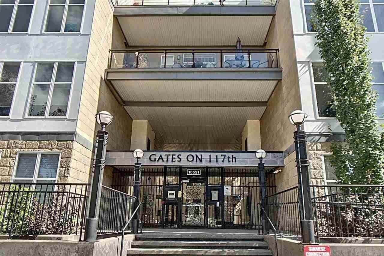 Condo for sale at 10531 117 St NW Unit 215 Edmonton Alberta - MLS: E4211744