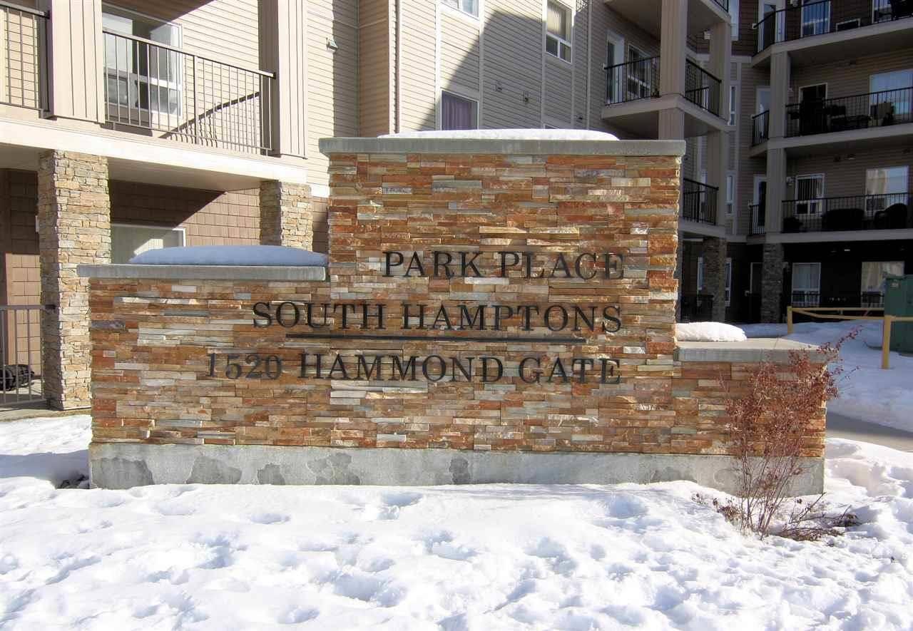 Condo for sale at 1520 Hammond Gt Nw Unit 215 Edmonton Alberta - MLS: E4188994