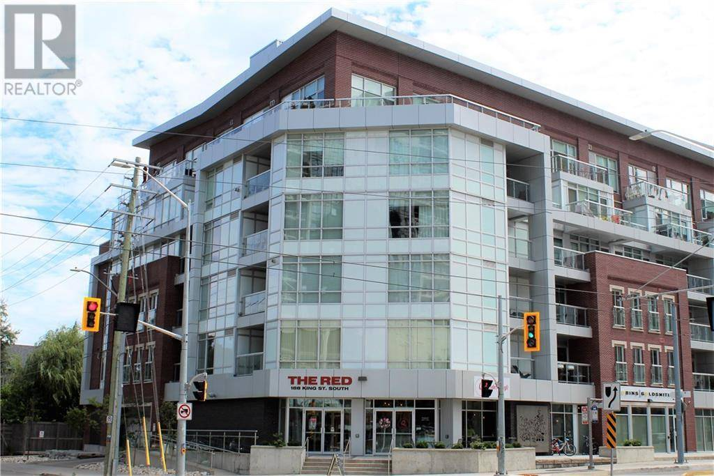 Apartment for rent at 188 King St South Unit 215 Waterloo Ontario - MLS: 30760342