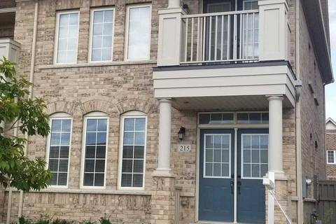 Townhouse for rent at 215 Barons St Vaughan Ontario - MLS: N4542954