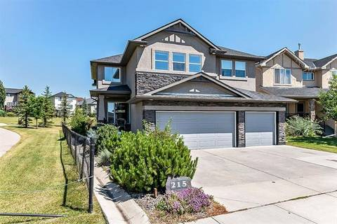 House for sale at 215 Crystal Shores Dr Okotoks Alberta - MLS: C4238529
