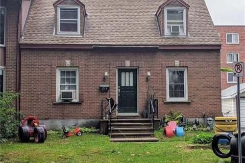 House for sale at 215 Dovercourt Ave Ottawa Ontario - MLS: 1212257