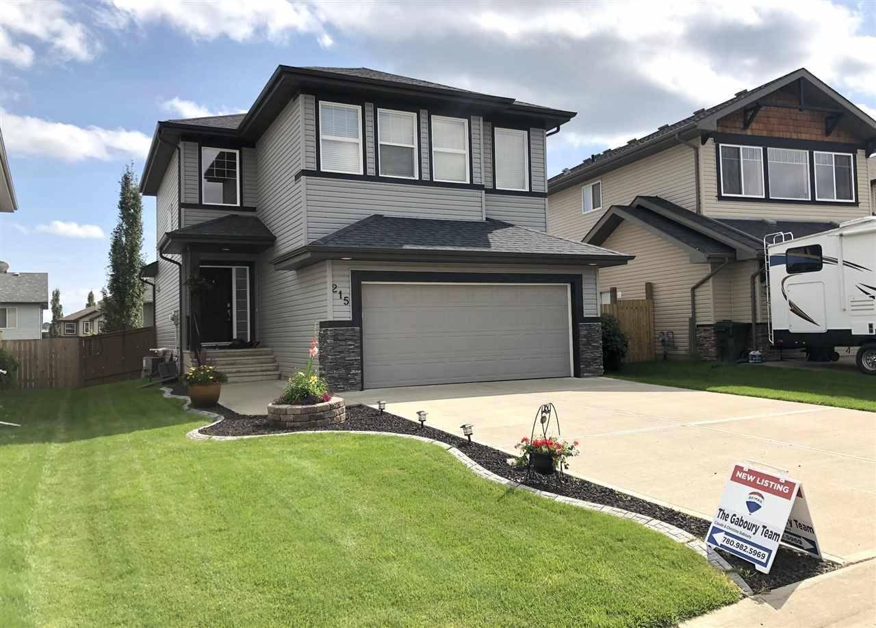 House for sale at 215 Henderson Li Spruce Grove Alberta - MLS: E4170380