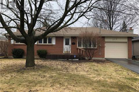 House for sale at 215 Parrott Dr Belleville Ontario - MLS: 186175