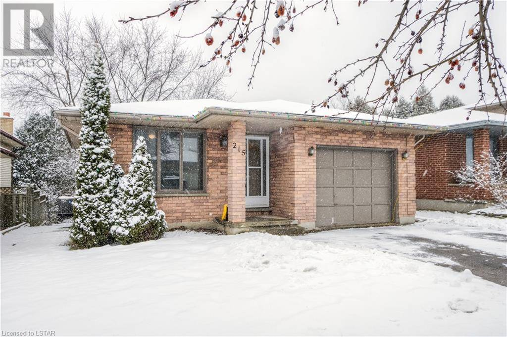 House for sale at 215 Walmer Gr London Ontario - MLS: 246714