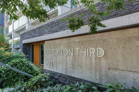 Condo for sale at 221 3rd St E Unit 216 North Vancouver British Columbia - MLS: R2395427