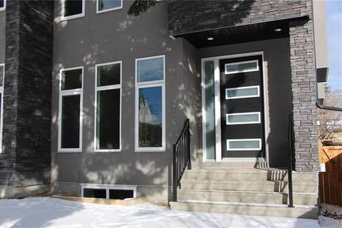 Townhouse for sale at 216 26 Ave Northwest Calgary Alberta - MLS: C4285871