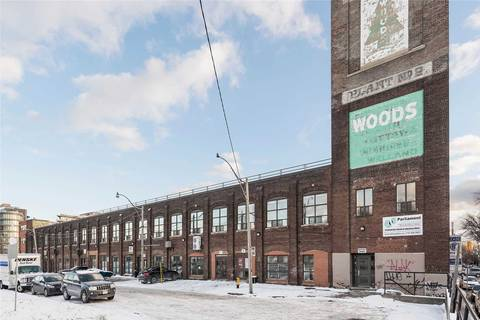 Commercial property for lease at 401 Logan Ave Apartment 216 Toronto Ontario - MLS: E4741333