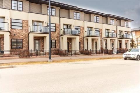 Townhouse for sale at 216 Aspen Stone Blvd Southwest Calgary Alberta - MLS: C4276447