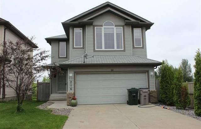 House for sale at 216 Brookview Wy Stony Plain Alberta - MLS: E4187339