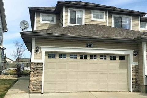 Townhouse for sale at 216 Charlotte Wy Sherwood Park Alberta - MLS: E4154529