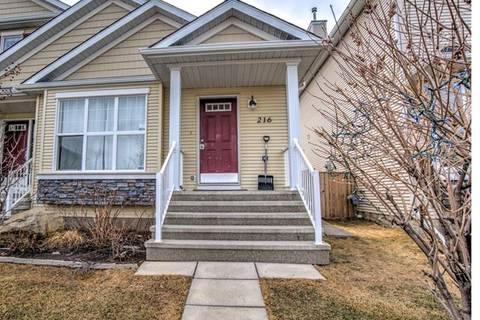 Townhouse for sale at 216 Cramond Green Southeast Calgary Alberta - MLS: C4243659