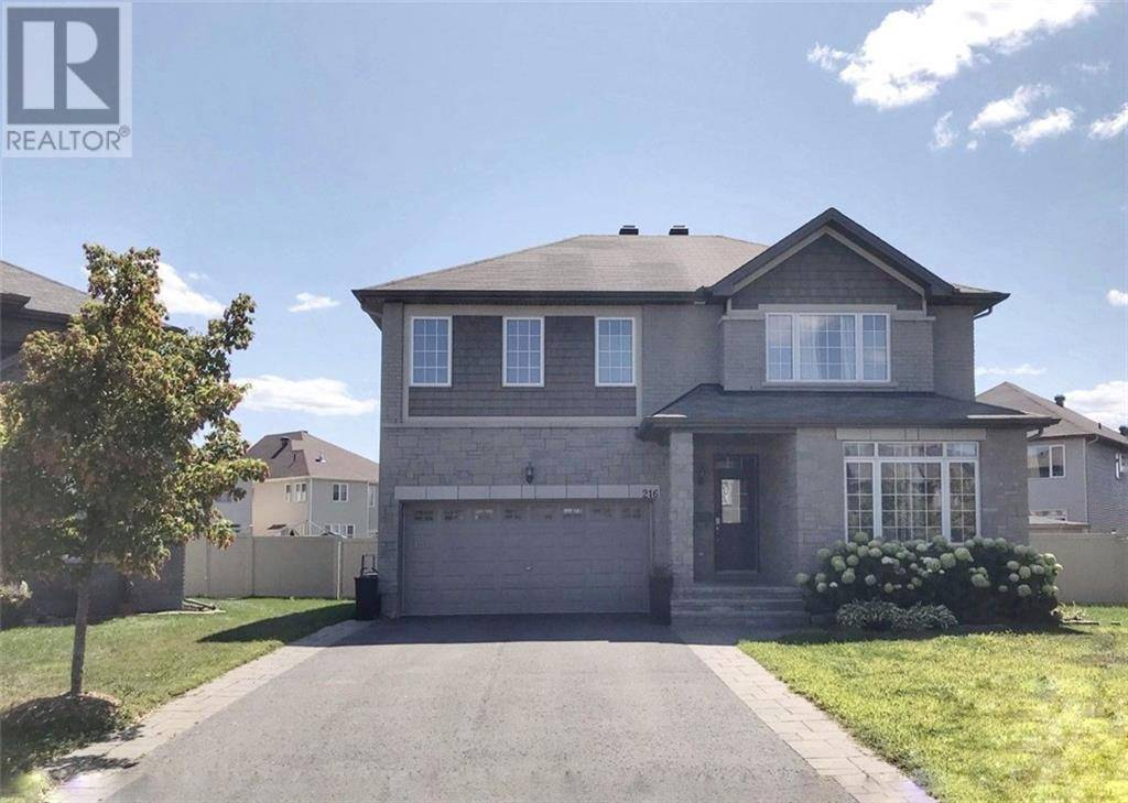 House for sale at 216 Dave Smith Cres Manotick Ontario - MLS: 1183976