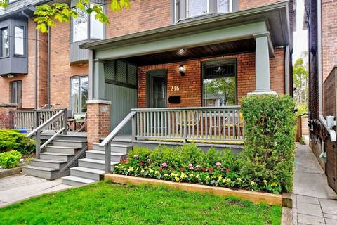 Townhouse for sale at 216 Fulton Ave Toronto Ontario - MLS: E4457465