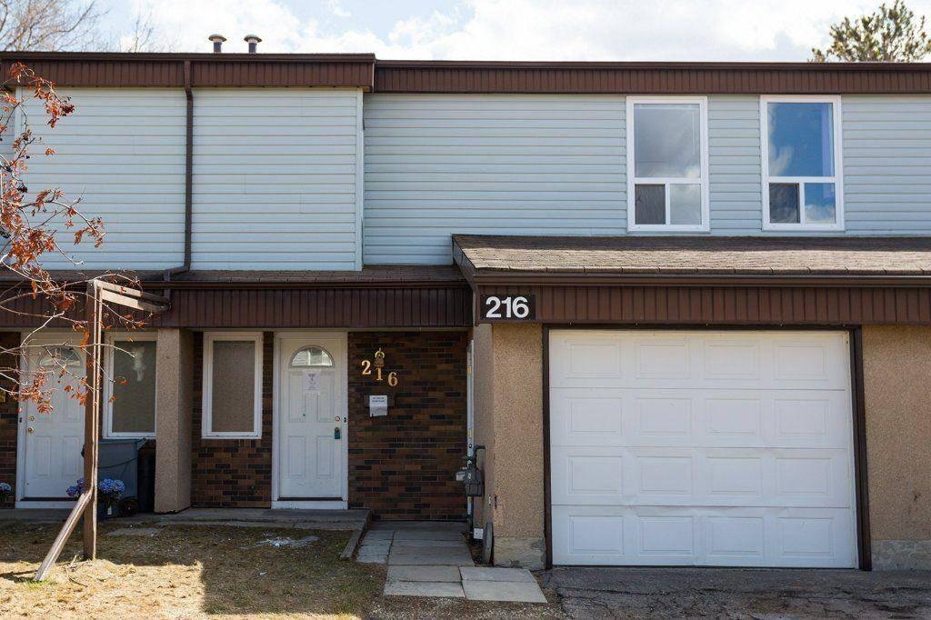 Townhouse for sale at 216 Grandin Vg  St. Albert Alberta - MLS: E4195028