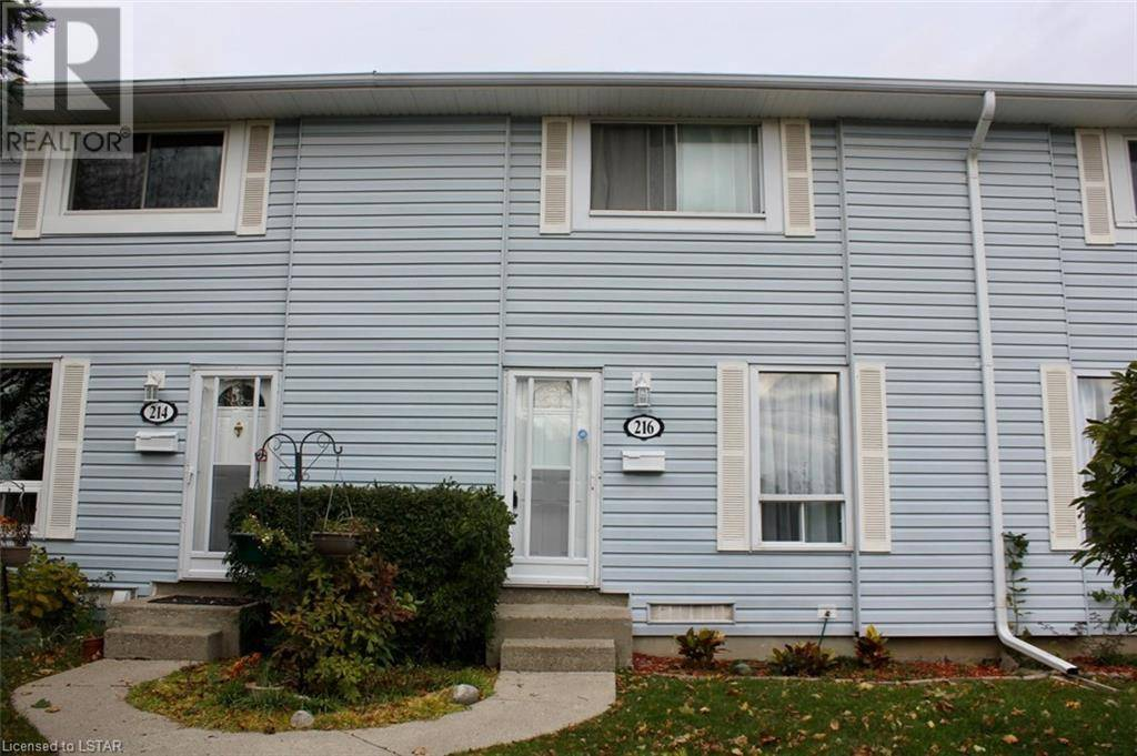 Townhouse for sale at 216 Monmore Rd London Ontario - MLS: 228016