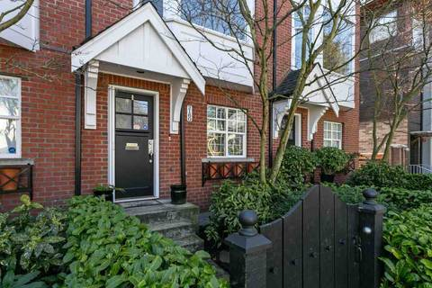 Townhouse for sale at 2160 8th Ave W Vancouver British Columbia - MLS: R2450097