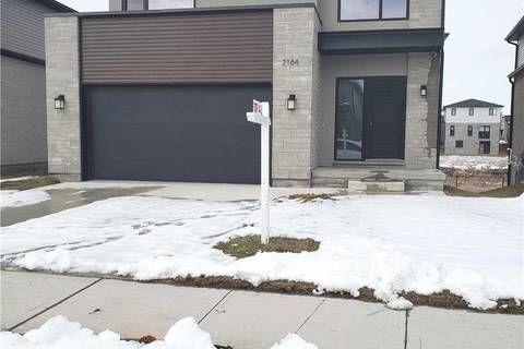 House for sale at 2164 Wateroak Dr London Ontario - MLS: X4690627