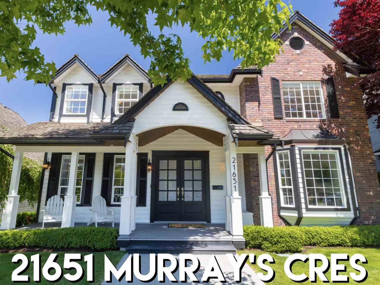 Sold: 21651 Murrays Crescent, Langley, BC