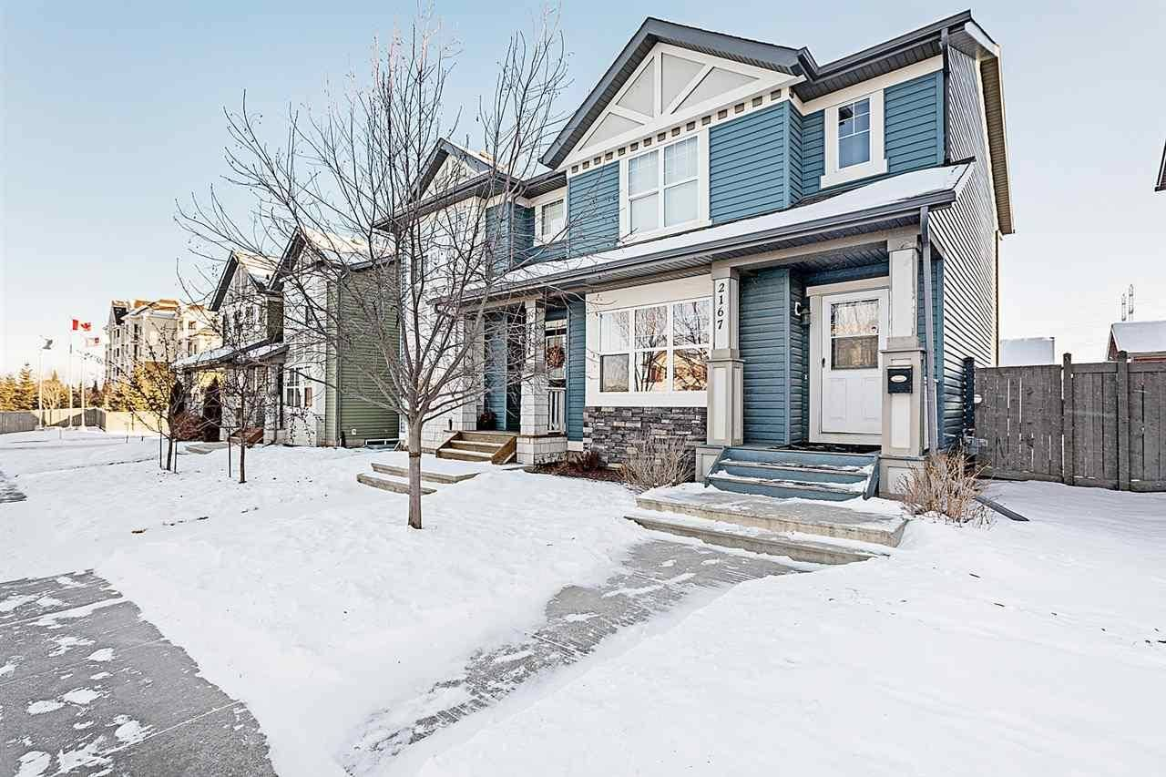 Townhouse for sale at 2167 32 St Nw Edmonton Alberta - MLS: E4189481