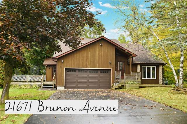 For Sale: 21671 Brunon Avenue, Scugog, ON | 3 Bed, 3 Bath House for $549,900. See 20 photos!