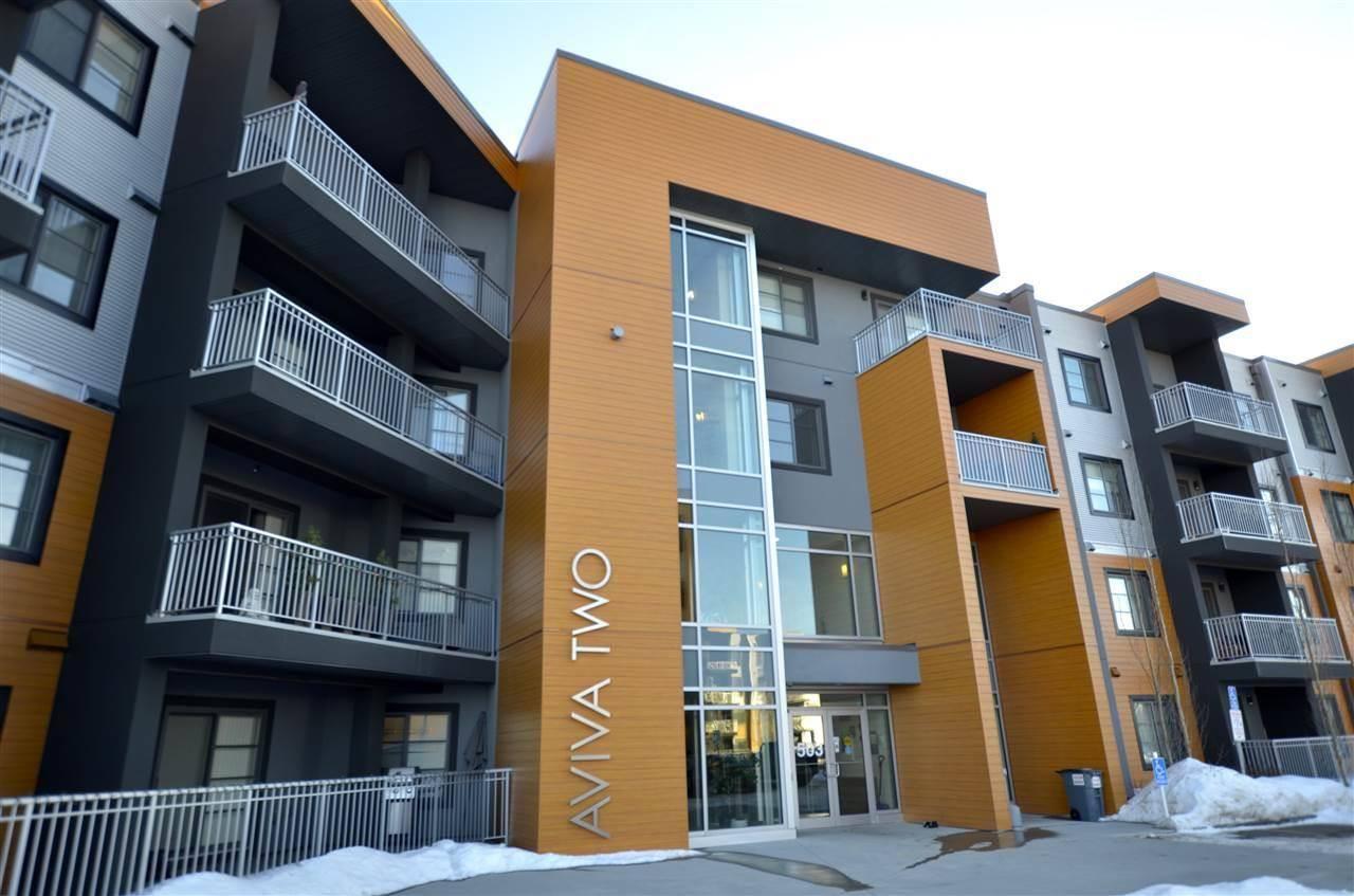 Condo for sale at 503 Albany Wy Nw Unit 217 Edmonton Alberta - MLS: E4189556