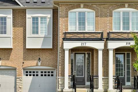 Townhouse for sale at 217 Golden Orchard Rd Vaughan Ontario - MLS: N4558673