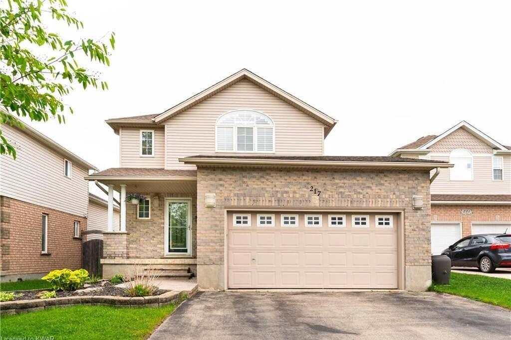 House for sale at 217 Laurel Springs Ct Kitchener Ontario - MLS: 30810217