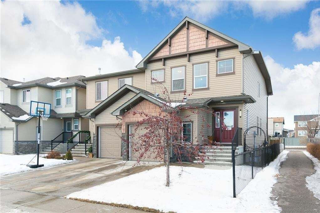 Townhouse for sale at 217 Luxstone Wy SW Luxstone, Airdrie Alberta - MLS: C4305494
