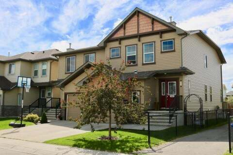 Townhouse for sale at  217 Luxstone Wy Southwest Airdrie Alberta - MLS: C4305494