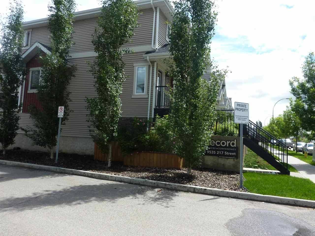 Townhouse for sale at  217 St Nw Edmonton Alberta - MLS: E4163144