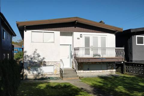 House for sale at 2179 29th Ave E Vancouver British Columbia - MLS: R2413122