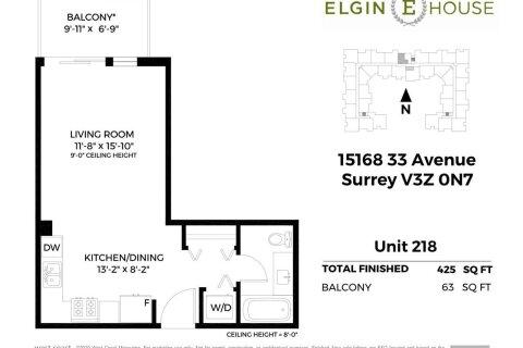 Condo for sale at 15168 33 Ave Unit 218 Surrey British Columbia - MLS: R2516174