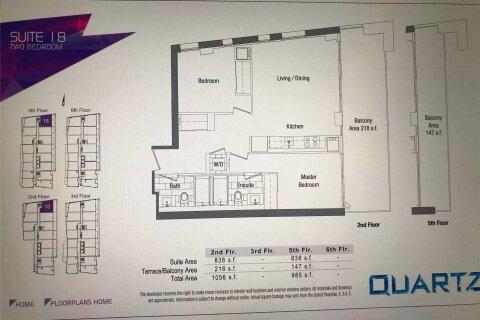 Apartment for rent at 75 Queens Wharf Rd Unit 218 Toronto Ontario - MLS: C5056942