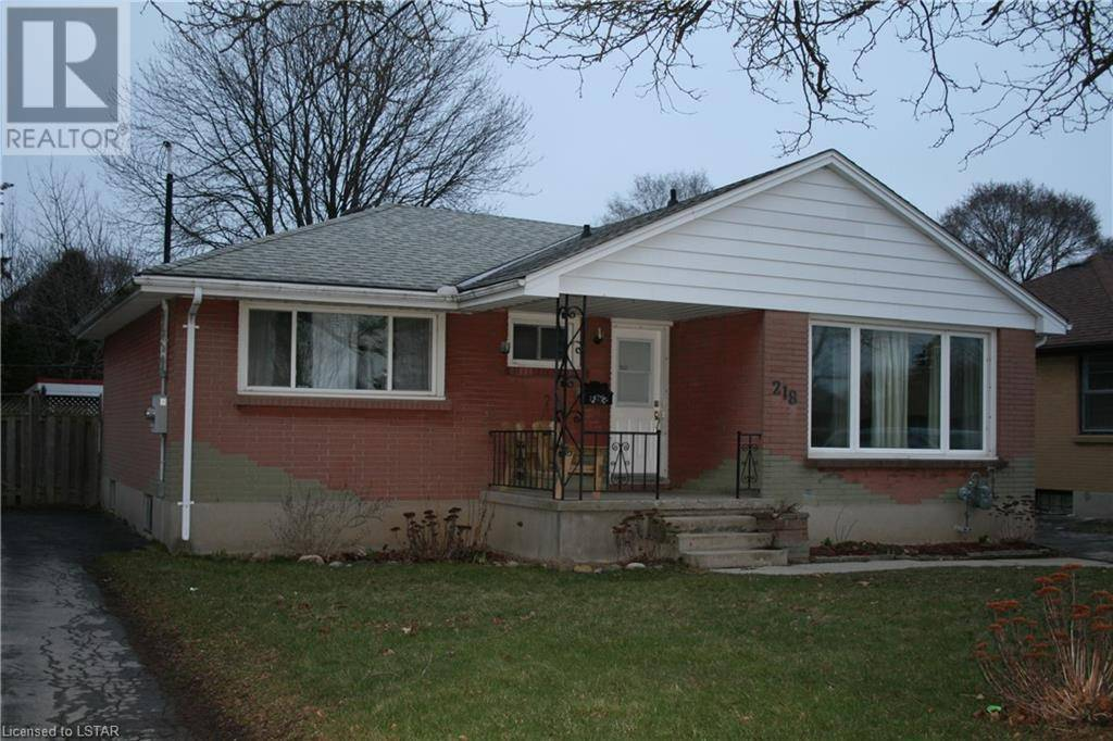 House for sale at 218 Atkinson Blvd London Ontario - MLS: 252513