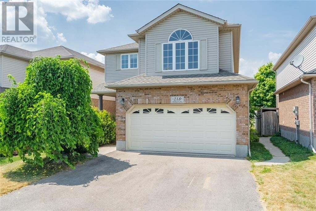 House for sale at 218 Holbeach Cres Waterloo Ontario - MLS: 30819852