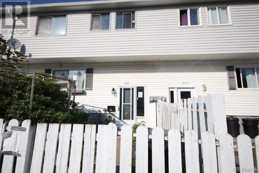 House for sale at 218 Tartan St Saint John New Brunswick - MLS: NB046842