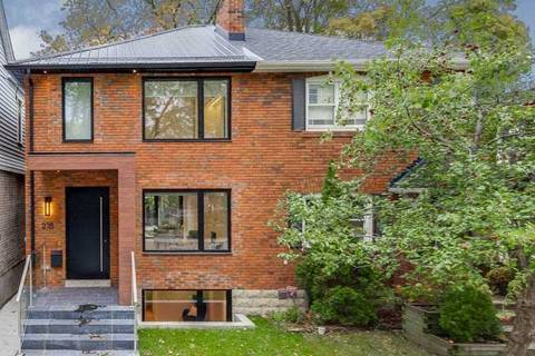 Townhouse for sale at 218 Woburn Ave Toronto Ontario - MLS: C4633997